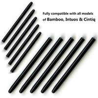 bamboo drawing pad - 40 Pieces Pack Universal Graphic Drawing Pad Standard Black Pen nibs for Wacom Bamboo Intuos Cintiq