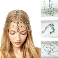 Wholesale 6pcs Wedding Bridal Hairband With Faux Pearls Tassel Woman s Jewelry Party Hairwear Headdress Hair Ornament jt131