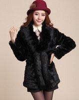 ban coat - fourrure Miss Han Ban new winter fur coat fox fur collar long wool fur female models