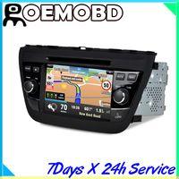 Wholesale CASKA inch din car dvd gps Dash System car dvd player gps navigation IPOD For CA272 KR7 Suzuki SX4