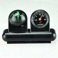 Wholesale Boats Cars Vehicles Navigation Compass Ball Thermometer zHM073