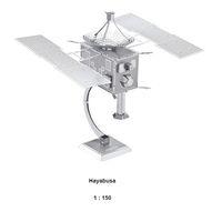 Wholesale Hayabusa D Jigsaw Puzzles Nano Metal DIY Scale Model Educational Toys Kid