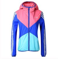 Wholesale New Women Sports Jackets Running Camping Breathable Sports wear Quick dry Hoodies Multi colorHighquality