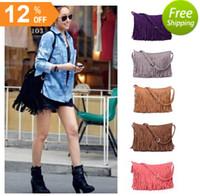 Wholesale Fashion Women s Fringe Tassel Handbags Women Messenger Bag Lady Cross Body Shoulder Bag