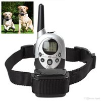 Wholesale 1000 Yard Rechargeable Waterproof LCD Shock Vibra Remote Pet Dog Training Collar EGS_900