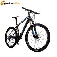 Wholesale Passion Ebike Speed carbon fibre bicicleta mountain bike Hydraulic Brake quot Frame