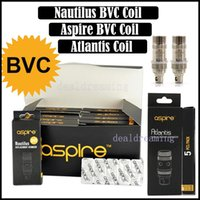 Cheap Aspire Atlantis Coils 100% the same as Original Nautilus BVC Mini Coils BDC Atomizer Coils for Atomizers Via DHL Free Shipping 54242