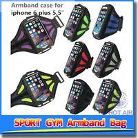 adjustable neoprene band - Hot Adjustable Running SPORT GYM Armband Bag Case for iPhone S Waterproof Jogging Arm Band Mobile Phone Premium Cover