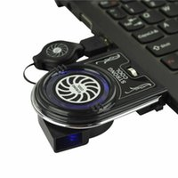 Wholesale Mini Vacuum USB Cooling Fan Cooler Air Extract Cooling Pad For Notebook Laptop