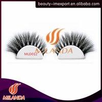 Wholesale oem custom packaging d mink lashes handmade extensions natural