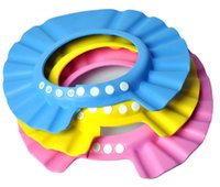 Wholesale Hot Adjustable Soft Baby Shampoo Shower Cap Baby Care Bath Protection For Kid