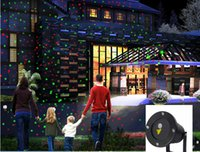 Wholesale 2016 NEW With remote control Outdoor laser lamp lawn lamp garden lights garden lights Christmas laser lights Christmas lights