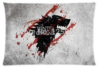 Wholesale Game Of Thrones Winter Is Coming Pillow Case Cover Rectangle Pillow Case X30 Inch Two Sides