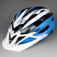 Cheap Wholesale-Sky Blue LIMAR C11 ultralight mountain bike riding helmet hero safety helmet unicase protective hat 240g free shipping