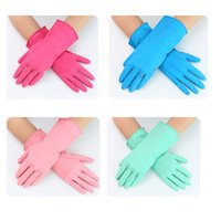 Household Gloves - pairs Natural latex Clean Gloves Household Disposal Gardening Gloves Kitchen Wash Clean Oil Dining Tools