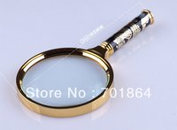 Wholesale mm Copper Magnifier with Dragon design Handle Gold Color X