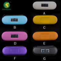 Wholesale Top quality electronic cigarette bag eGo Zipper Case Bag small Size for Electronic Cigarette E Cigarette
