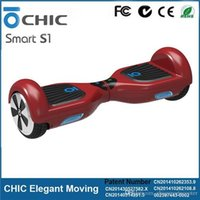 Wholesale Two Wheel Balance Scooters Genuine CHIC Smart S1 IO Hawk Motor Scooter Self Balancing Electric Standing Skateboard Motorized Hoverboard