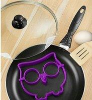 animals breakfast - HOT Breakfast Silicone Owl Animal Fried Egg Mold Pancake Egg Ring Shaper Funny Creative Kitchen Tool