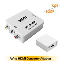 rca to hdmi converter - Mini AV2HDMI Composite RCA CVBS AV to HDMI Converter Adapter Connector DVD P P