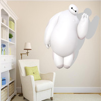 big giant design - RoomMates D Big Hero White Baymax Peel and Stick Giant Wall Decals Kindergarten Children s Room Decorative Wall Stickers