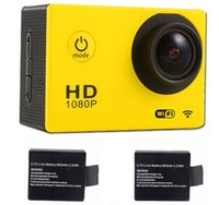 Wholesale 3 V Mah Li ion Battery for Sports Camera SJ4000 Wifi Sports Camera SJ4000 Winait DV W7 DV S8 Cameras