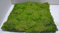 PE artificial grass mats - 50 pieces cm cm artificial moss mat grass mat boxwood mat