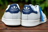 Wholesale Stan Smith Man s Women s Casual Shoe man shoes women shoes Classic couples skate shoes white green