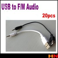 audio jacks and plugs - mm Male AUX Audio Plug Jack to USB Female and male Converter Cable Cord Car MP3 Audio Cable Line