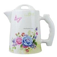 teapots - 95 OZ ROSES LARGE TEAPOT