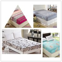Wholesale New Home Textile Bedspread fitted bed sheet summer elastic cover mattress covers cushion clothes bedspread