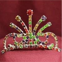 auger types - 2015 New Fashion children tire crown color Children s mini crown fashion set auger comb type flower crown