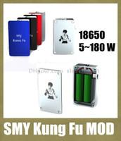 Wholesale vape mod e cigarette mod Kung fu ecig mechanical mod Smy hottest unregulated kungfu box mod original Smy mod VS vamo v4 mod ipv2 TZ210