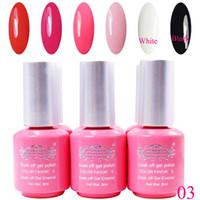 best base coat nail polish - Hot sale Nail Gel Polish Soak Off Nail Gel UV Days Long Lasting The Best Gel Polish Colors Top Coat Base Gel