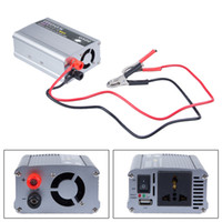 Wholesale 300W Car Auto Battery Power Inverter Adapter Converter DC V to AC V UK New ZM00048
