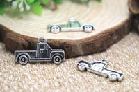 antique pickup trucks - 20pcs Antique Tibetan Silver Pickup truck Charms Pendants DIY Supplies Jewelry Making x26mm