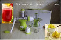 Wholesale 2016 Multifunctional fruit juice machine manual new children home ice cream machine