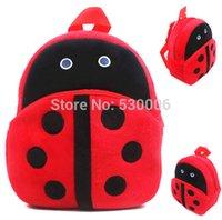 Wholesale 2015 New baby Boys Girls lovely cartoon School bags children Ladybug design Mini backpack kids D mochila infantil