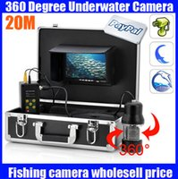 underwater fishing camera - 50m Underwater Camera Degree View Remote Control SONY CCD underwater video camera fish finder fish camera with Inch LCD moniot box