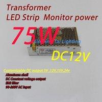 Wholesale module lighting transformer Built in filter Led SMPS strip power supply v v AC to DC v w new arrival order lt no track