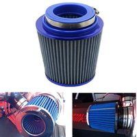 Wholesale Universal Auto Vehicle Car Air Intake Air Filter Cold mm Dual Funnel Adapter works for mm Round Tapered