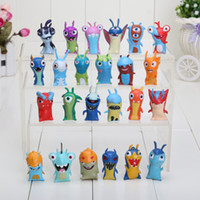 anime toys - 24pcs set Anime Cartoon cm Mini Slugterra PVC Action Figures Toys Dolls Child Toys
