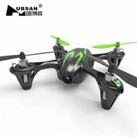 Wholesale 2 Batteries New Upgraded Hubsan X4 V2 H107C G CH RC Quadcopter RTF With M Camera and LED Night Lights and Soft Pad