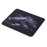 Wholesale new Gun Picture Anti Slip Laptop PC gaming Mice Pad Mat Mousepad For Optical Laser Mouse