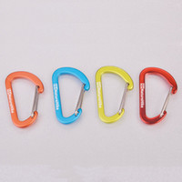 Cheap Wholesales Carabiner Key Rings Key Chains Aluminum Carabiner Camp Snap Clip Hook Keychain Hiking Camping MA0087 kevinstyle