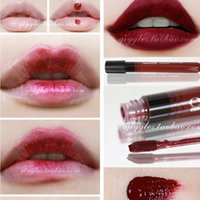 amazing wine - cosmetics beauty Amazing Waterproof Liquid Makeup Matt Lip Stick lasting Lipstick The Vampire Deep red red wine purple color