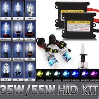 hid headlights - China bulbs W W H7 H1 H4 H4 HID Xenon Conversion Headlight KIT Bulb