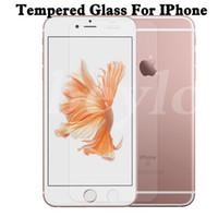 Iphone verre trempé Protecteur d'écran w. Package Retail. 0.2mm 9H 2.5D Iphone 6 / 6S / 6 + / + 6s / 5 / 5S / 5c 4 / 4S