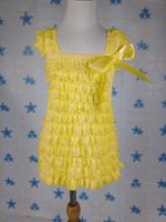 antique lace dresses - Yellow Baby Petti Lace Dress Girls Ivory Flower Girl Dress Pictures Antique Lace Petti Dress