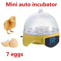 automatic incubators for hatching eggs - 1pc Brand New Home Mini Digital Eggs Incubator For Hatching Eggs Automatic Chicken Duck Bird Incubators Reptile AC V EU